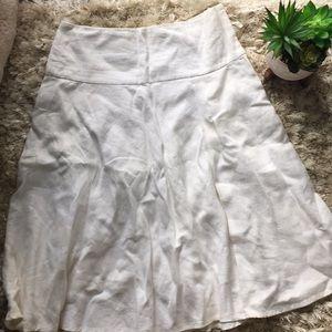 White midi skirt 3/$10